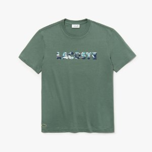 Camiseta Lacoste Regular Verde