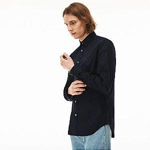 Camisa Lacoste Slim Fit Marinho