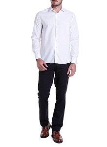 Camisa Dudalina Wrinke Free Comfort Fit Branca