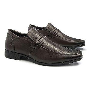 Sapato Social Ferricelli Couro Brown