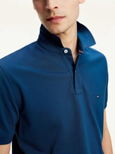 Polo Tommy Hilfiger Regular Fit Marinho