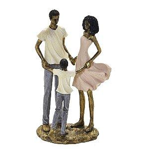 Escultura em Resina Família-  257-303