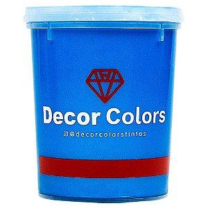 Cimento Aveludado Diamantado Safira 1,6 kg - Decor Colors