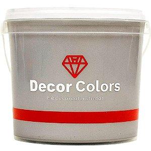 Cimento Aveludado Diamantado Prata Nobre 3,2 kg - Decor Colors