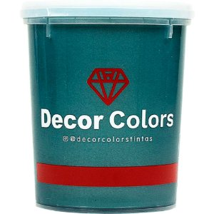Cimento Aveludado Diamantado Poeira De Jade 1,6 kg - Decor Colors