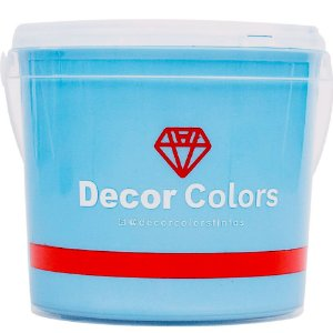 Cimento Aveludado Diamantado Baby Blue 3,2 kg - Decor Colors