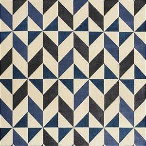 Tapete Sala / Quarto Prisma Azul 04/43 - 1,60 x 2,30 (Peça Única)