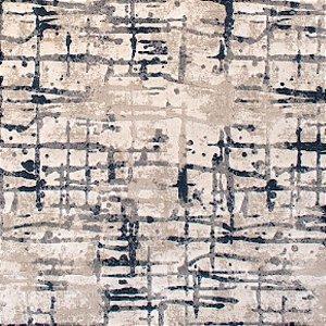 Tapete Sala / Quarto Newbury 32887 Beige/Anthracite - 2,50 x 3,00 (Peça Única)