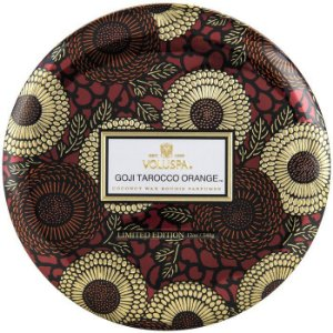 Vela perfumada em lata  VOLUSPA GOJI & TAROCCO ORANGE 340 g