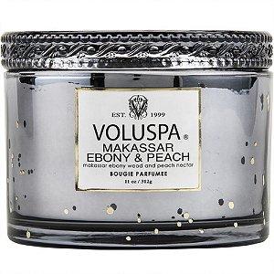 Vela perfumada  VOLUSPA MAKASSAR EBONY & PEACH 312 g