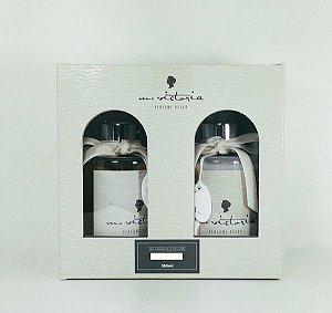 Kit Sabonete e Difusor Chá Branco  350 ml