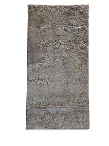 Passadeira Carícia Prata - 1,00 x 0,50cm