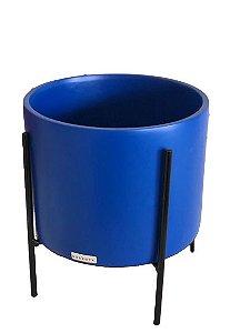 Vaso Azul com suporte 75429