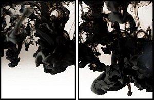 Quadro Abstrato-conj. 2 peças - AD6112
