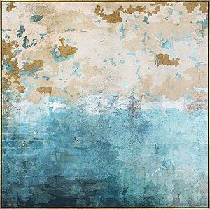 Quadro Tela Canvas Abstrata - AD5761