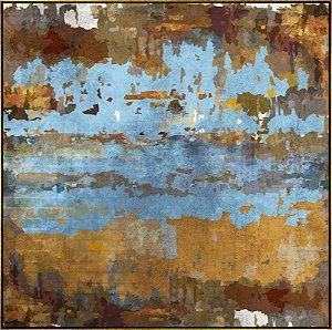Quadro Tela Canvas Abstrata - AD5760