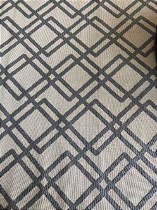 Passadeira Sfynx cinza e bege 42112-56 - 0,36 x 2,50