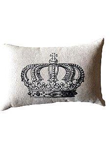 Baguete Cinza com Coroa | 58x35