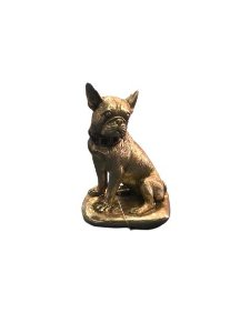Escultura Bulldog Frances  Ouro
