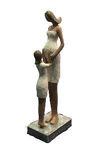 Mãe Gravida Com Filha 257-10089