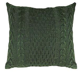 Almofada Tricô Verde  046-05  | 52x52