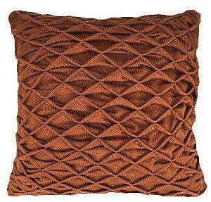 Almofada Tricô Origami Ocre 048-04 | 52x52