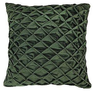Almofada Tricô Origami Verde 048-05 | 52x52