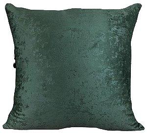 Almofada Veludo Marmorizada Verde 234-04