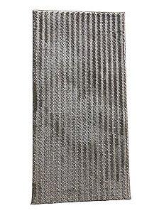 Passadeira Trançada Bege - 1,00 x 0,50cm