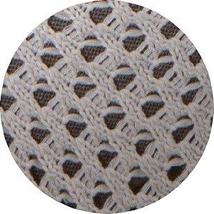 Manta De Tricô Bege 049-01 - 0,90 x 2,20