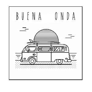 QUADRO DECORATIVO - COMBI BUENA ONDA