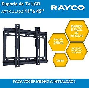 "SUPORTE P/TV RAYCO 14"" A 42""  14931"