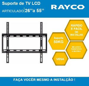"SUPORTE P/TV RAYCO 26"" A 55""  14932"