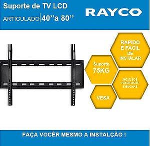 "SUPORTE P/TV RAYCO  40"" A 80""  14933"