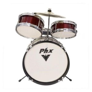 Bateria Musical Infantil PHX 14 VINHO