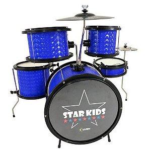 Bateria Musical Infantil LUEN STAR KIDS AZUL