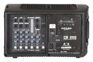 CAIXA AMPLIFICADA LL CB200 cabeçote c/6 can.  200w