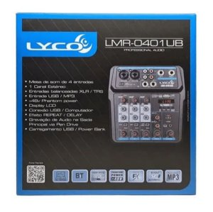 MESA LYCO LMR-0401UB        USB 4 canais
