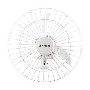 Ventilador Parede Oscilante 50cm 200w Bivolt Branco Ventisol