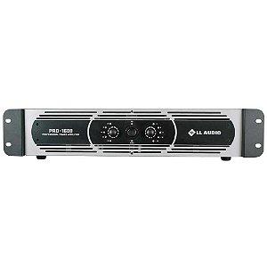Amplificador De Potência LL Audio Pro 1600 400 Watts 4 Ohms