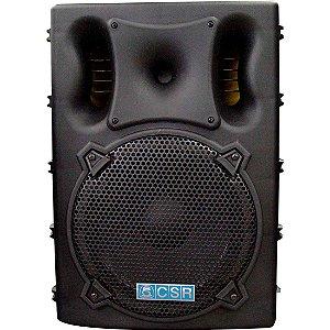 Caixa CSR Amplificada Ativa 300w 4000A Usb Sd bluetooth Falante 15