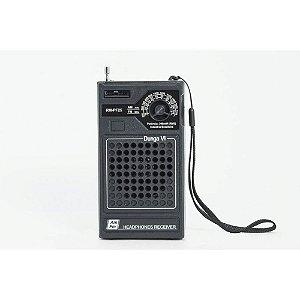 Rádio Portátil Motobras - 2 Faixas (Am E Fm) Modelo: RM-PF25 - Dunga