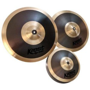 Kit de pratos para bateria Krest 14, 16, 20 orbit OSET1B