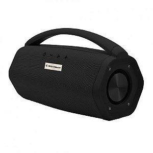 Caixa de Som Aqua Boom Speaker Ipx7 Goldship Bateria Interna/Bluetooth CX-1467-Preta