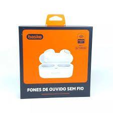 Fone de Ouvido Sem Fio Bluetooth Basike Ba-FON6684