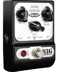 Pedal Nig Pocket Delay Analog Tap Tempo Para Guitarra - PADT