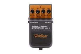 Pedal WALDMAN para Baixo, Bass Classic Overdrive BCO-2, Stage FX