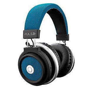Fone de Ouvido Sem Fio Pulse Large Bluetooth Azul - PH232