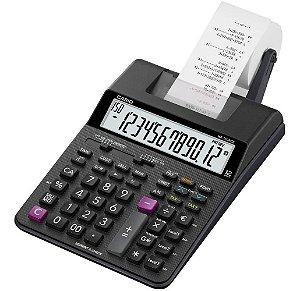 Calculadora de Impressão Casio HR-150RC Preta 12 Dígitos -Adaptador Bivolt Incluso