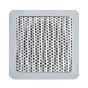 """Arandela para Sonorização de Ambiente Coaxial AQ-6 Quadrada  40W 6"""" Natts"""